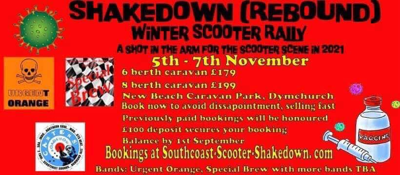 Shakedown Winter Scooter Rally 2021